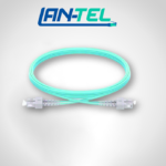 Jarretière Optique LC UPC vers ST UPC Duplex OM3 Multimode PVC Longueur Personnalisée