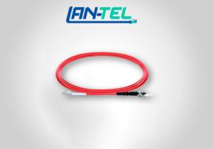 Jarretière Optique LC UPC vers ST UPC Duplex OM1 Multimode PVC Longueur Personnalisée